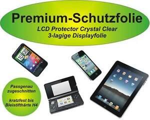 2x Premium-Schutzfolie kratzfest Apple iPhone 4 / 4G