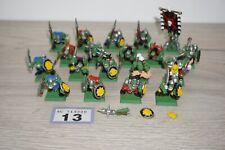 Warhammer Fantasy Orcs & Goblins Orc Warriors x 19