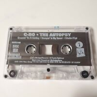 C-BO The AUTOPSY Cassette Rap C Bo Co 1994 Awol Records Rap Gangsta Hip Hop ep