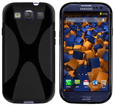 mumbi Hülle f. Samsung Galaxy S3 / S3 Neo Schutzhüllen X-TPU Case Tasche Schwarz