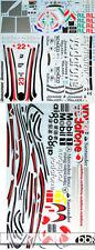 1/8 FULL SPONSOR DECAL for DEAGOSTINI McLAREN MP4-23 HAMILTON