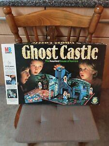 Ghost Castle Vintage Board Game 1985 Complete