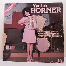 """33T Yvette HORNER Disque Vinyle LP 12"""" DEDE DE MONTMARTRE - MFP 13.667 Rare"""