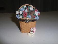 Longaberger Exclusive, Boyd'S Bears 2004 Blanche'S Homestead Basket Treasure Box