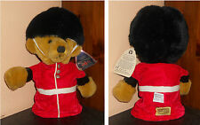 MERRYTHOUGHT BEAR Royal guardsman teddy Orso Puppet 30 cm Peluche Burattino