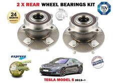 FOR TESLA MODEL S 60 70 75 85 90 P85 P100 2013-> NEW 2 X REAR WHEEL BEARING KIT