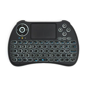 REiiE H9+ mini Keyboard + TouchPad [ Tastiera Wireless Retroilluminata ]