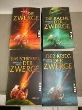 Markus Heitz Zwerge Band 1 2 3 4 Krieg Rache Schicksal  Piper  TB  (WR3)