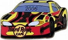 Hard Rock Cafe ONLINE 2006 Stock Car Series PIN - Yellow RACE CAR - NM