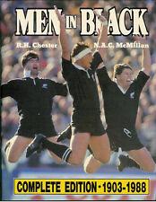 Hommes en noir par Chester & McMillan-Livre de rugby signé la nouvelle zélande histoire