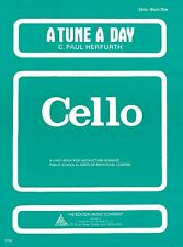 A Tune a Day Cello Book 1 NEW 014034200