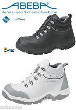 ABEBA Anatomista Calzado de Seguridad Zapato Abotinado Zapatos de Trabajo