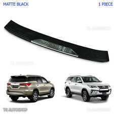 Black Rear Bumper Guard Protect Cover Fits Toyota Fortuner E4 Sigma 2015 - 2017