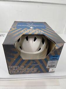 Hummingbird V2 Lacrosse Headgear White Helmet Size Small 16.25-17.75 New $139.99