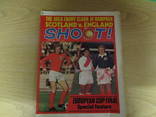 June 3rd 1972, SHOOT, Bobby Moore, Rod Thomas, Sandro Mazzola, Martin Chivers.
