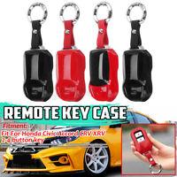 For Honda Civic Accord CR-V HR-V URV Pilot Smart Remote Key Fob Cover Case