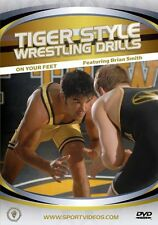 Tiger Style Wrestling Drills: On Your Feet - Instructional DVD - Free Shipping