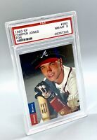 1993 SP FOIL #280 Chipper Jones Atlanta Braves HOF PSA 8 NM-MT
