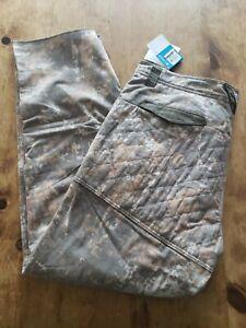 Columbia PHG Gallatin Lite Wool Blend Pants Timberwolf Digital Camo XL.  NWT