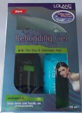 LOLANE Straight Off Rebonding Gel Kit Set For Dry & Damage Hair + Tracking