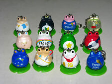 Bandai Frog Style figure keychain gashapon (full set of 12 keychain figures)