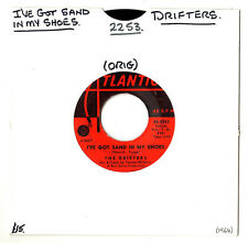 """SOUL.DRIFTERS.I'VE GOT SAND IN MY SHOES / HE'S JUST A PLAYBOY.U.S.ORIG 7"""".VG+"""