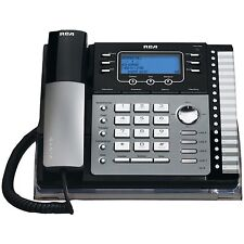 RCA 25425RE1 4-Line Corded Phone with Caller ID answering system & auto attend