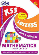 Key Stage 3 Maths Questions and Answers: Levels 5-8 by Letts Educational (Paperb