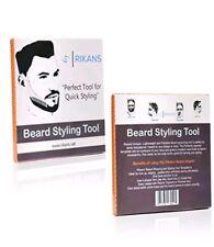2 PK Beard Shaper Trimmer Styling Template Guide for Beard Grooming
