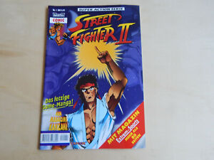 Street Fighter II / 2 Nr. 1 Bastei Verlag  Z 0-1
