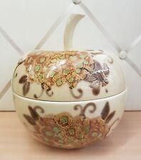 SIC Scatola forma mela ceramica design modernariato