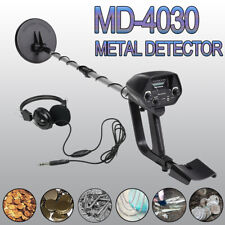 Waterproof Search Coil Metal Detector Coin Finder Gold Deep Hunter w/ Headphone