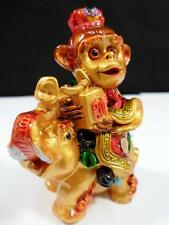 Chinese Asian Year of the MONKEY Elephant Zodiac Sign Feng Shui Lucky Figurine
