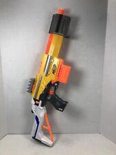 Nerf N-strike Alpha Trooper CS-18 Yellow Blaster w/ Stock, Dart Holder, 6 Clip