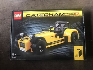 NEW SEALED LEGO Ideas Caterham Seven 620R 21307 FREE SHIPPING