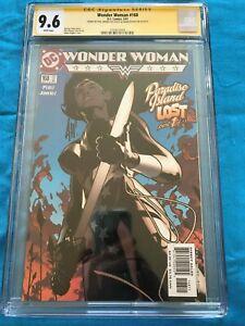 Wonder Woman #168 - DC - CGC SS 9.6 - Signed by Phil Jimenez, Adam Hughes
