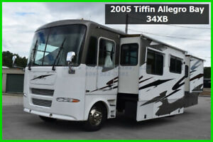2005 Tiffin Motorhomes Allegro Bay Used Motor Home Class A Coach Gas Chevy RV MH