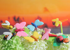 Iwako BUGS WORLD - Ladybug, Dragonfly. Butterfly and Bees Japanese Erasers 9PCS