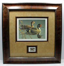 2008 Texas Waterfowl Pintail Duck Conservation Stamp Print Framed New Mint S/N