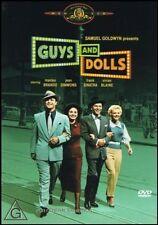 GUYS & DOLLS (Marlon BRANDO Jean SIMMONS Frank SINATRA) Classic Film DVD Reg 4