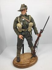 1/6 DRAGON AUSTRALIAN ARMY INFANTRYMAN NEW GUINEA ENFIELD+OAK STAND DID 21ST WW2