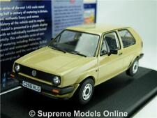 CORGI VA13602A VOLKSWAGEN GOLF MK2 MODEL CAR 1:43 SCALE VANGUARDS NEVADA BEIGE K