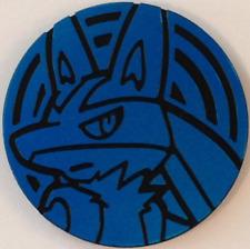 Pokemon LUCARIO Coin Blue Rainbow Holofoil Burning Shadows Blisters NM