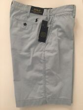 """Polo Ralph Lauren Mens Relaxed Fit 10"""" Shorts Size 36 W Hampton Blue NWT"""