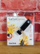 SanDisk SANSA EXPRESS 1GB USB MP3 Player, FM Tuner, Recorder, Micro SD Slot NEW!