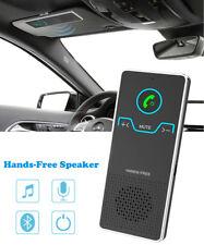 Bluetooth Handsfree Car Kit Wireless Speaker Visor Clip for Smart Phone Mobile