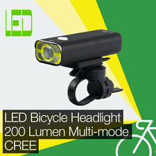High Performance 200 lm DEL Bicycle/Bike lumineuse/Front Light CREE