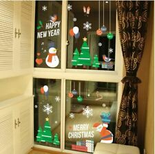 Wall Stickers Christmas Xmas Santa balloon gift winter vinyl decal decor Nursery