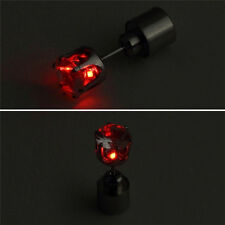 1 PC Light Up LED Bling Ear Studs Earrings Accessories for Dance/Xmas Party
