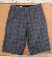 VOLCOM Boys Shorts ~ Gray ~ Size 26/12 ~ EUC